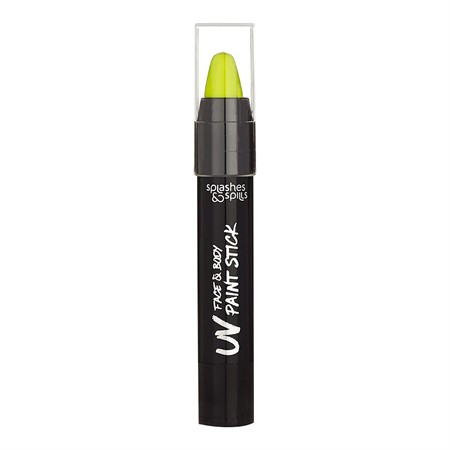 S&S UV FACE & BODY PAINT STICK YELLOW